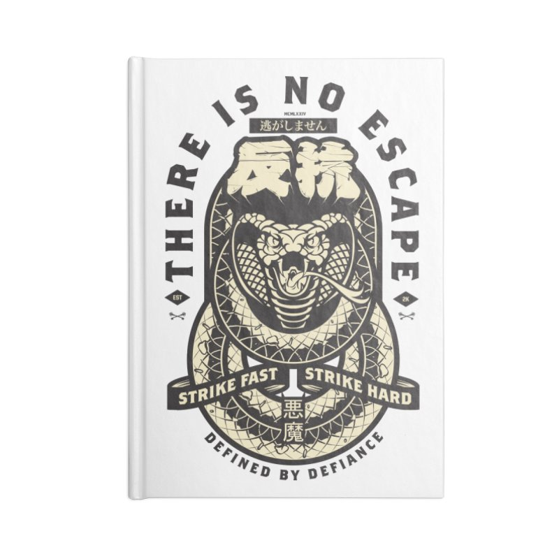 Strike Hard Accessories Lined Journal Notebook by HYDRO74