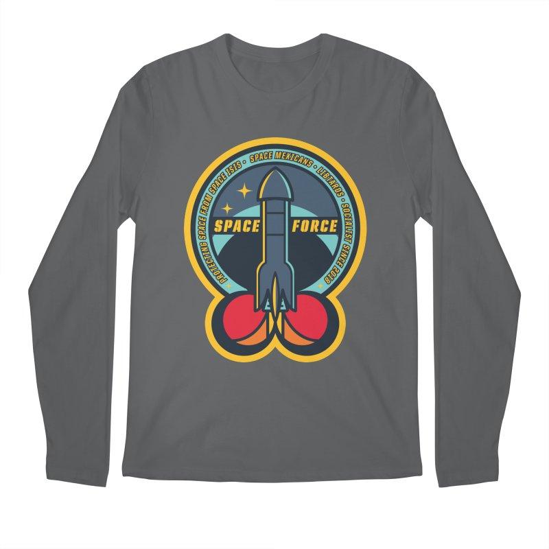 SPACE FORCE Men's Longsleeve T-Shirt by HYDRO74