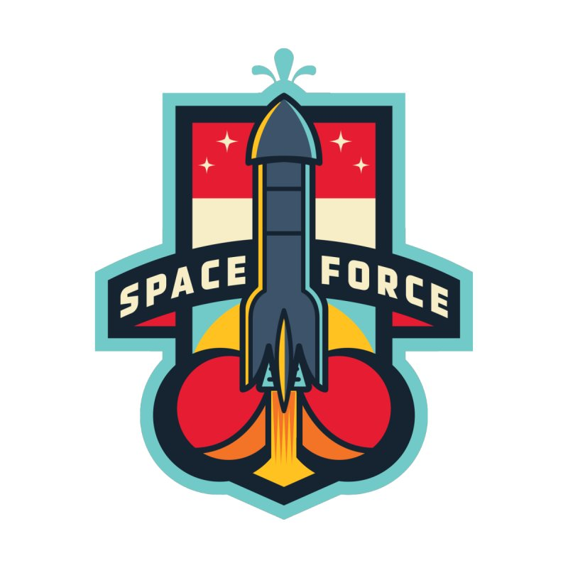SPACE FORCE II Women's Longsleeve T-Shirt by HYDRO74