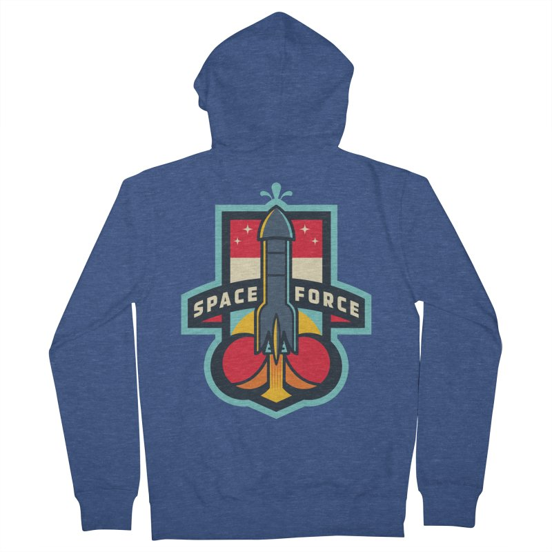 SPACE FORCE II Men's French Terry Zip-Up Hoody by HYDRO74