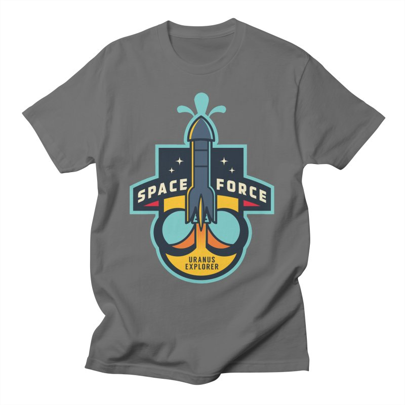 SPACE FORCE III Men's T-Shirt by HYDRO74