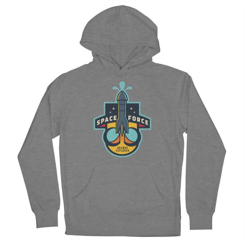 SPACE FORCE III Women's Pullover Hoody by HYDRO74