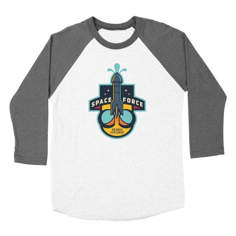 SPACE FORCE III Women's Longsleeve T-Shirt by HYDRO74