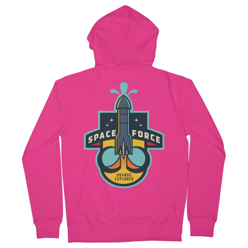 SPACE FORCE III Men's French Terry Zip-Up Hoody by HYDRO74