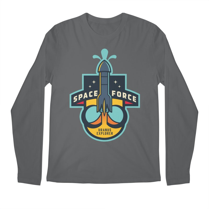 SPACE FORCE III Men's Longsleeve T-Shirt by HYDRO74