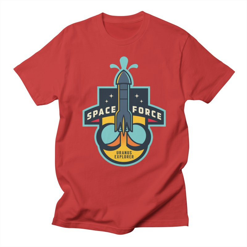SPACE FORCE III Men's Regular T-Shirt by HYDRO74