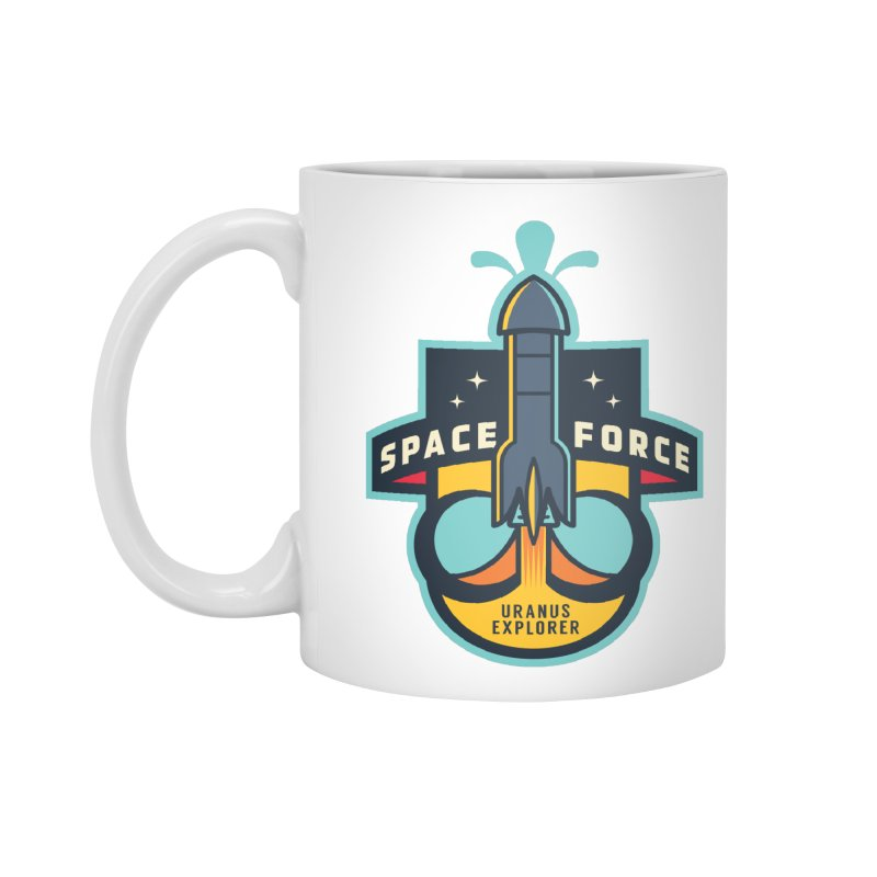 SPACE FORCE III Accessories Mug by HYDRO74