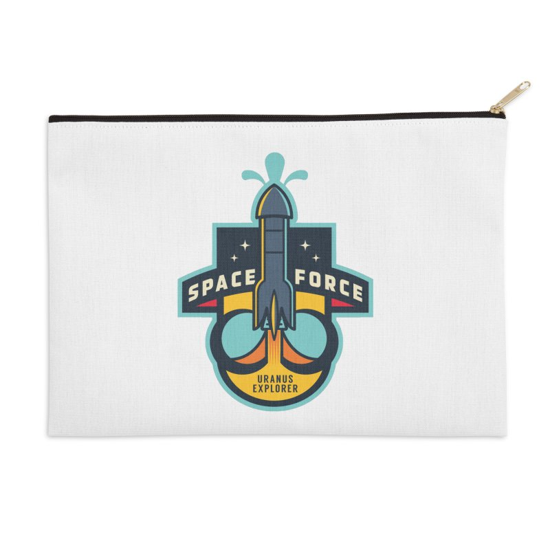 SPACE FORCE III Accessories Zip Pouch by HYDRO74
