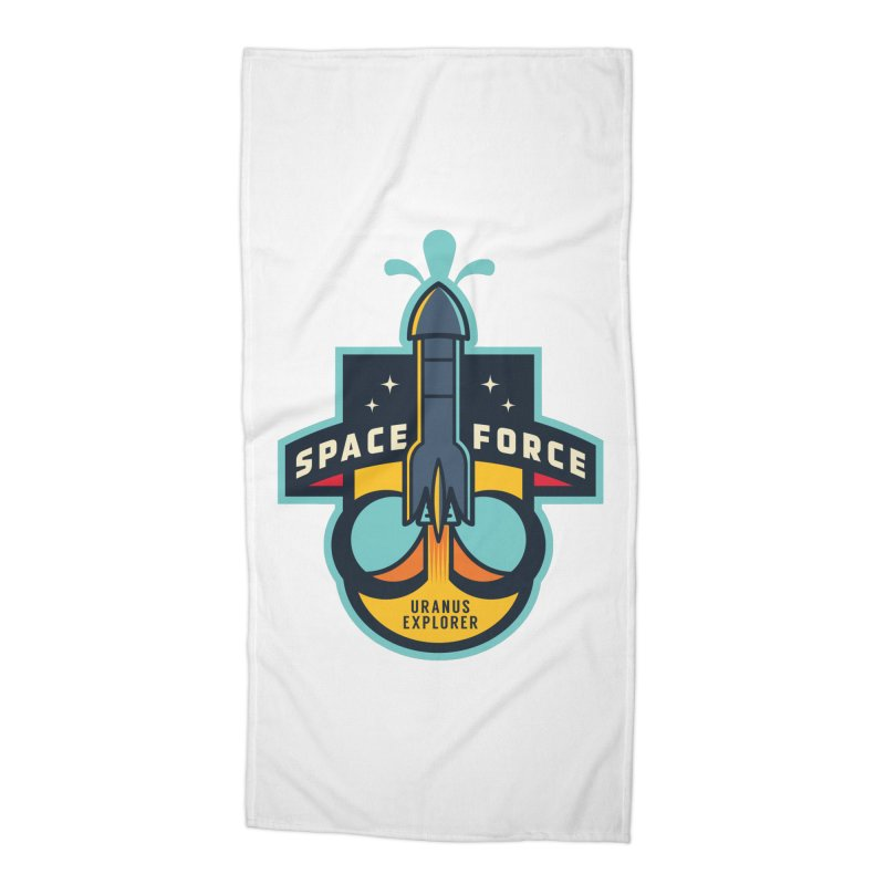 SPACE FORCE III Accessories Beach Towel by HYDRO74