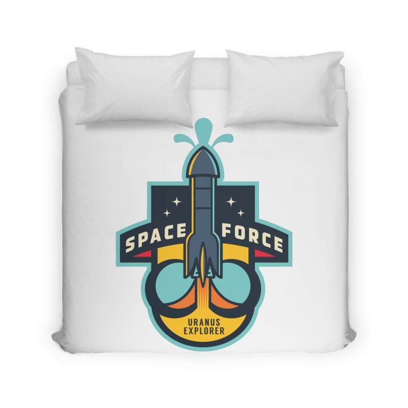 SPACE FORCE III Home Duvet by HYDRO74