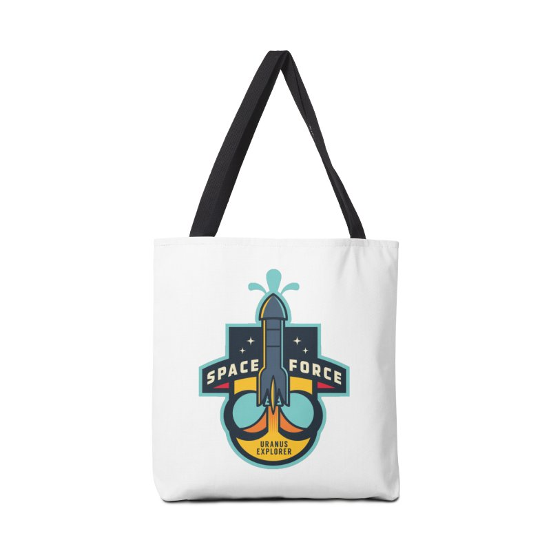 SPACE FORCE III Accessories Tote Bag Bag by HYDRO74