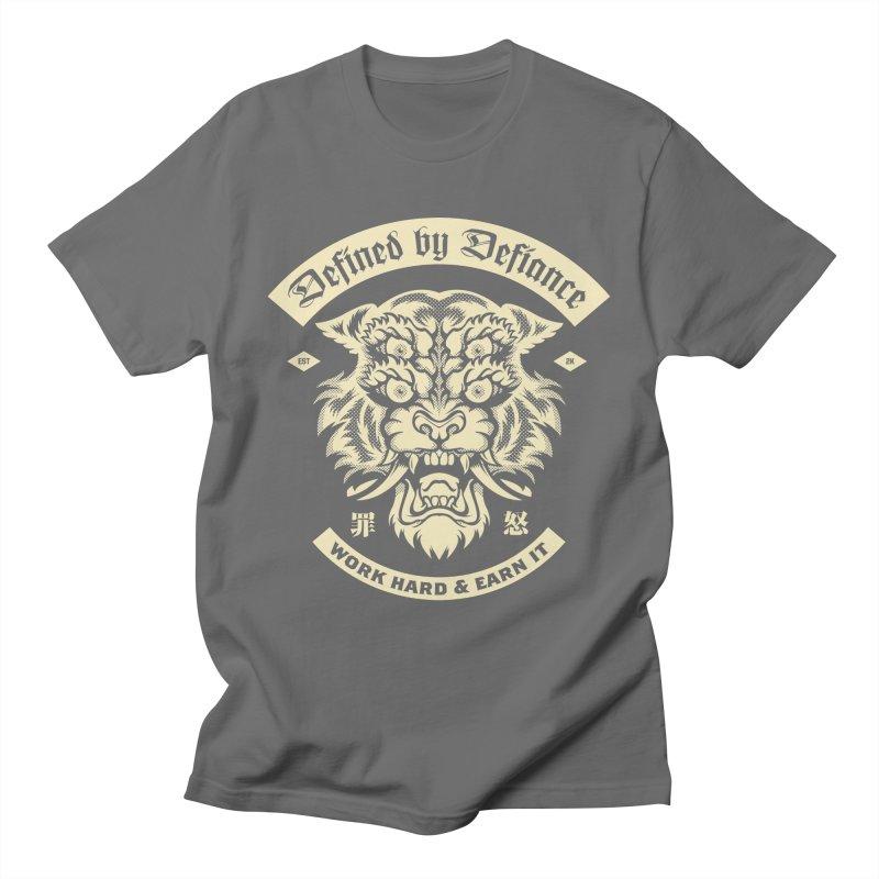 Earn It Men's T-Shirt by HYDRO74