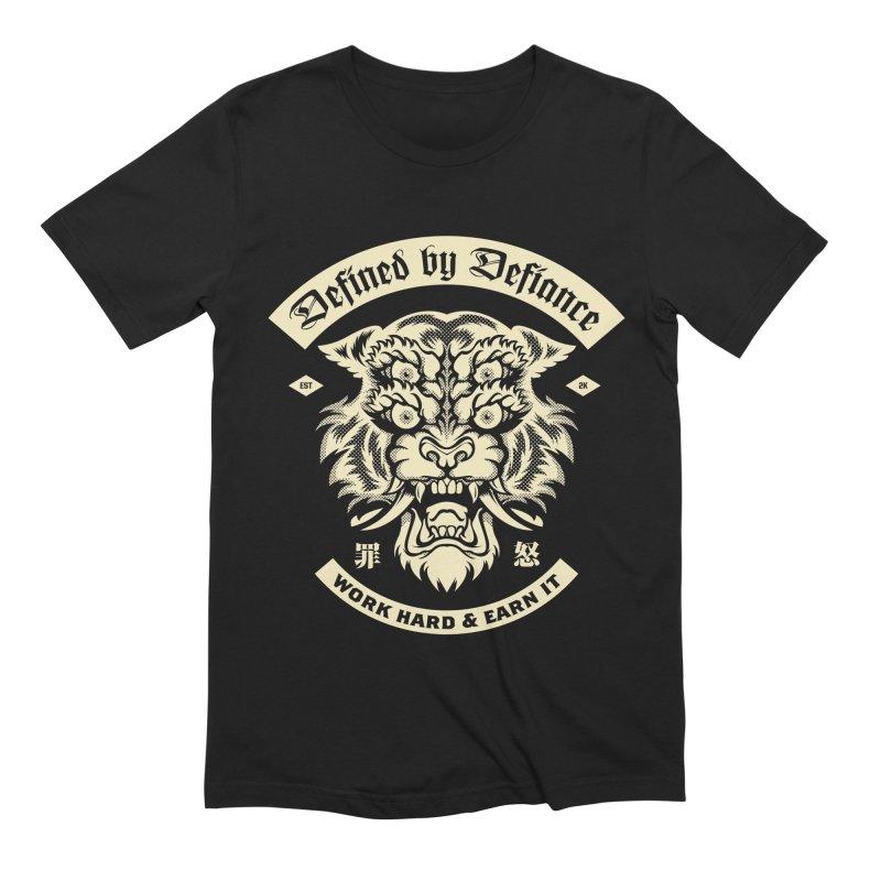 Earn It in Men's Extra Soft T-Shirt Black by HYDRO74