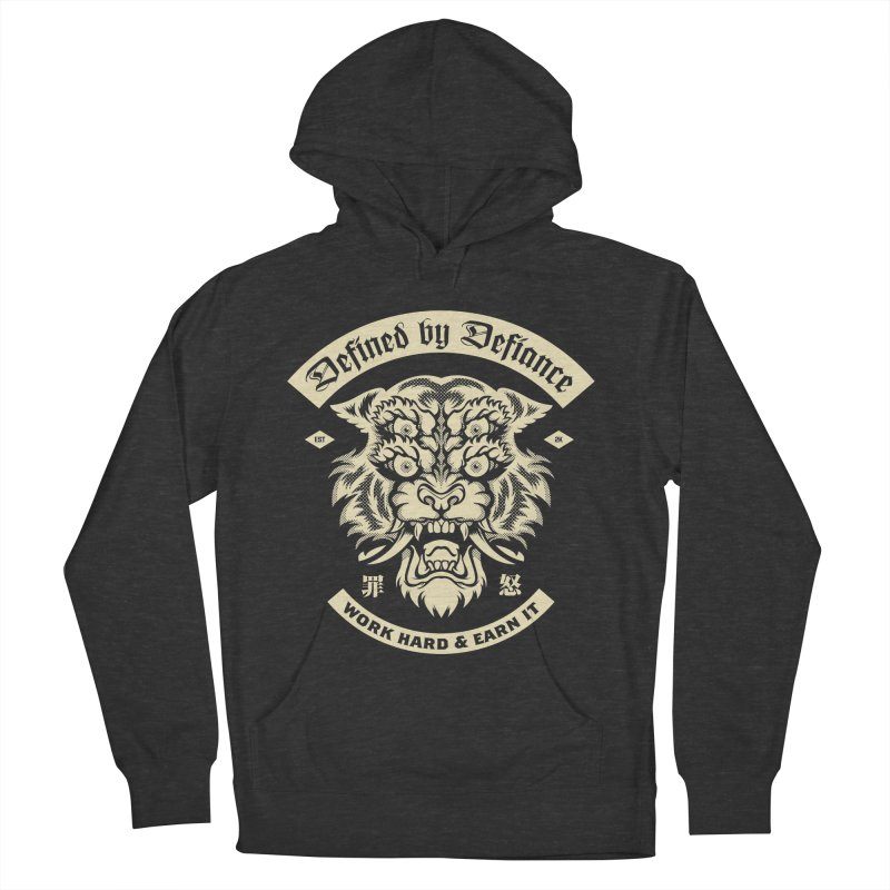 Earn It Men's French Terry Pullover Hoody by HYDRO74