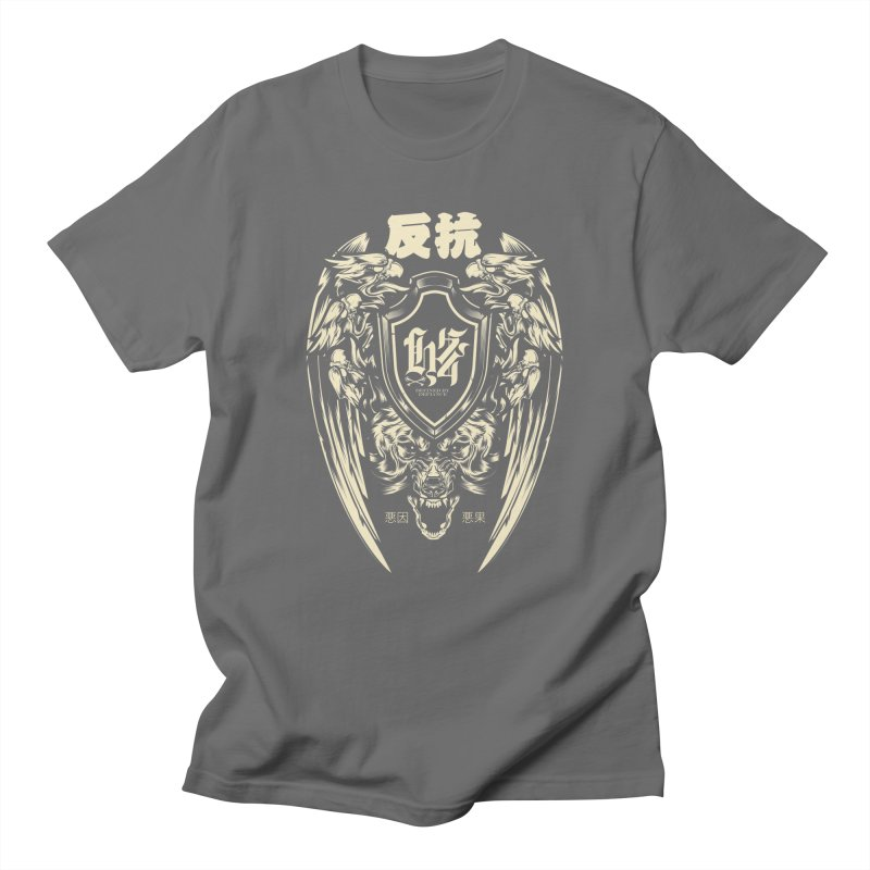 Defiance Eagle Men's T-Shirt by HYDRO74