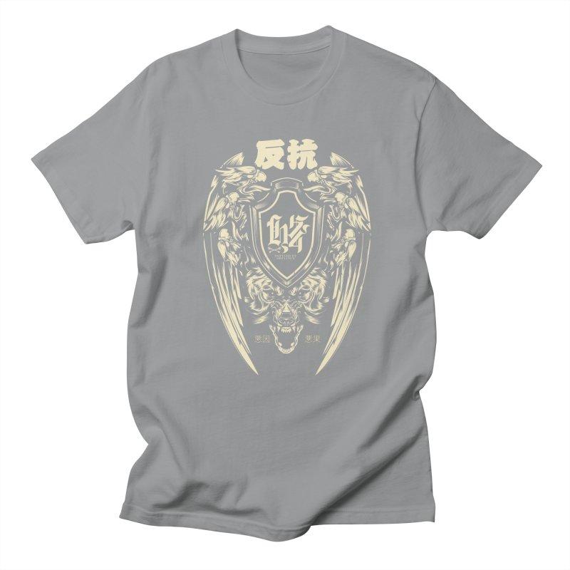 Defiance Eagle Men's Regular T-Shirt by HYDRO74
