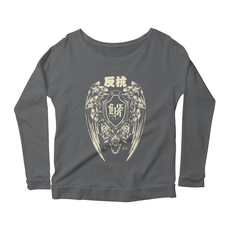 Defiance Eagle Women's Longsleeve T-Shirt by HYDRO74