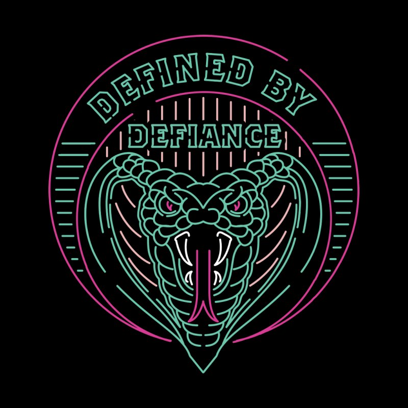 Defiance Neon Men's T-Shirt by HYDRO74