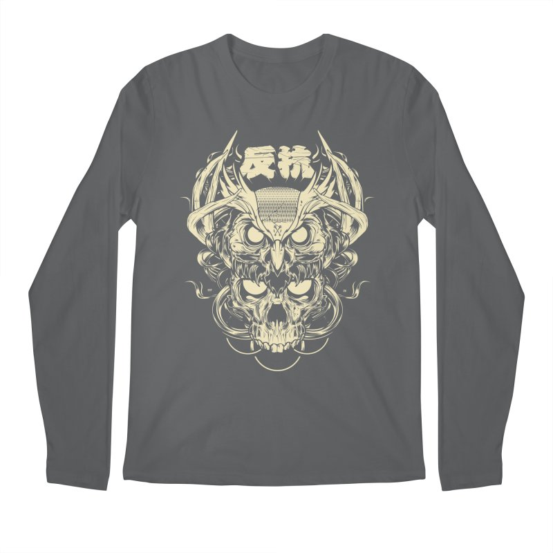 Owl Men's Longsleeve T-Shirt by HYDRO74