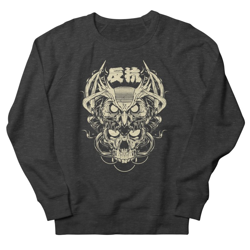 Owl Men's French Terry Sweatshirt by HYDRO74