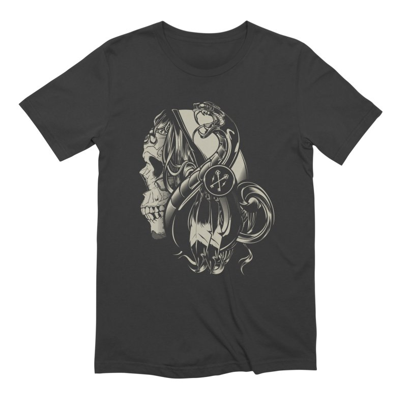 Gypsy in Men's Extra Soft T-Shirt Smoke by HYDRO74
