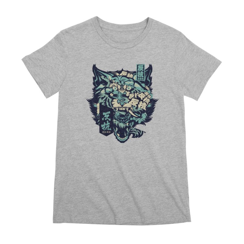 Defiance Anger Women's Premium T-Shirt by HYDRO74