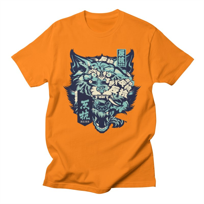 Defiance Anger Men's T-Shirt by HYDRO74