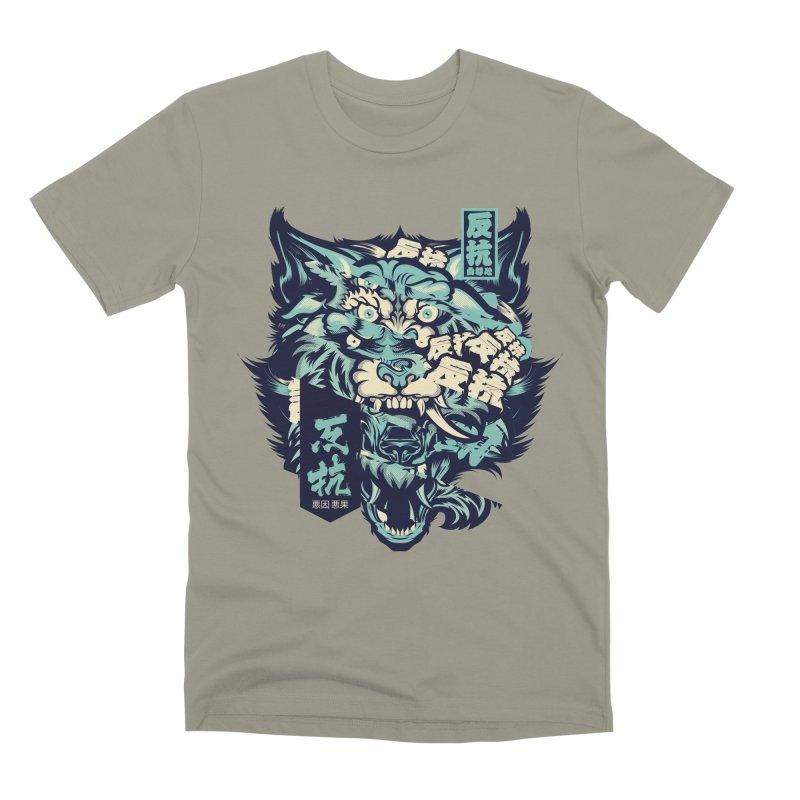 Defiance Anger Men's Premium T-Shirt by HYDRO74