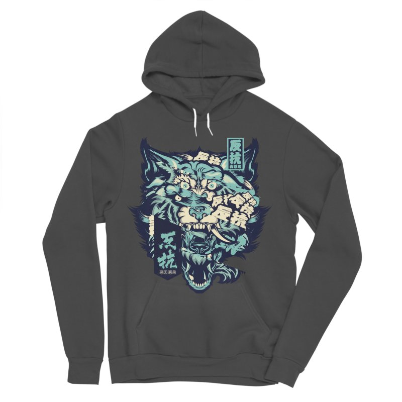 Defiance Anger Women's Sponge Fleece Pullover Hoody by HYDRO74