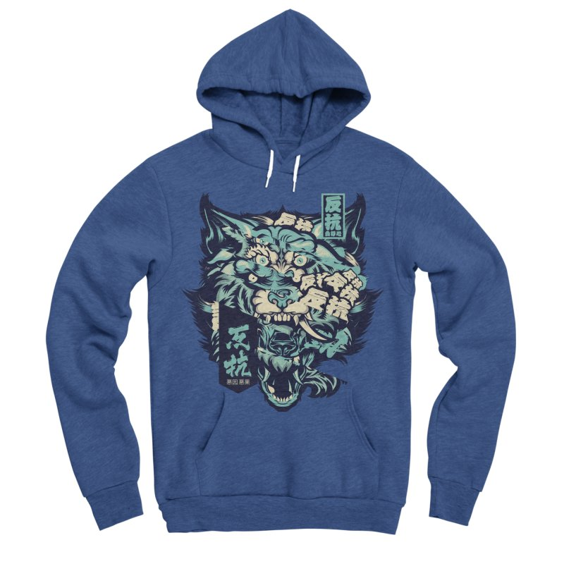 Defiance Anger Men's Sponge Fleece Pullover Hoody by HYDRO74