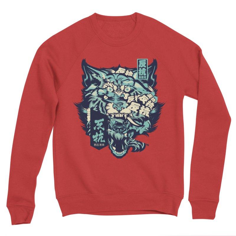 Defiance Anger Women's Sponge Fleece Sweatshirt by HYDRO74