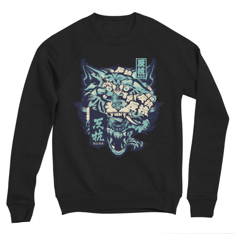 Defiance Anger Men's Sponge Fleece Sweatshirt by HYDRO74
