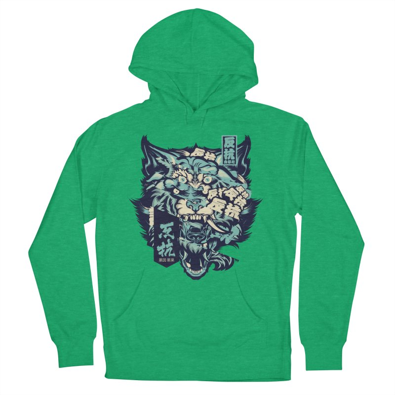 Defiance Anger Women's French Terry Pullover Hoody by HYDRO74