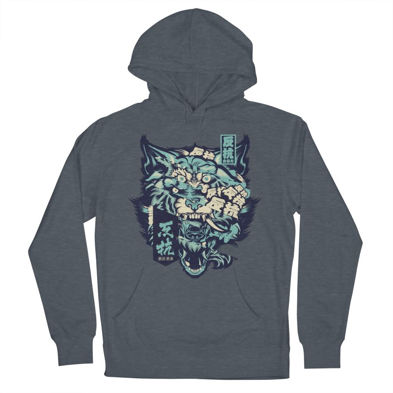 Defiance Anger Men's French Terry Pullover Hoody by HYDRO74