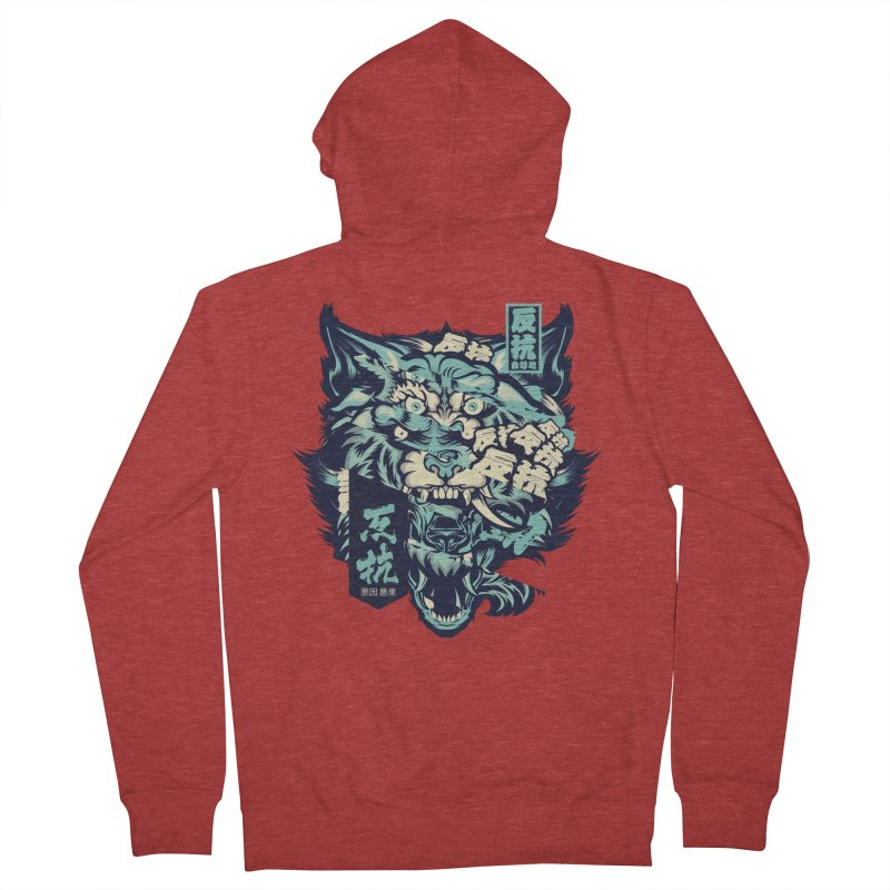 Defiance Anger Women's French Terry Zip-Up Hoody by HYDRO74