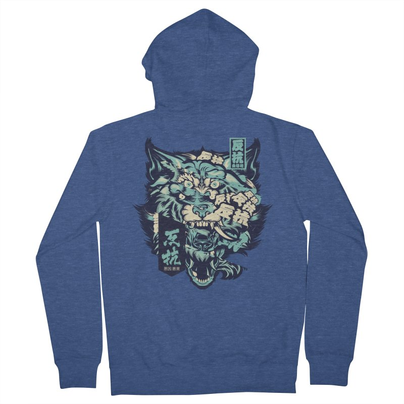 Defiance Anger Men's French Terry Zip-Up Hoody by HYDRO74