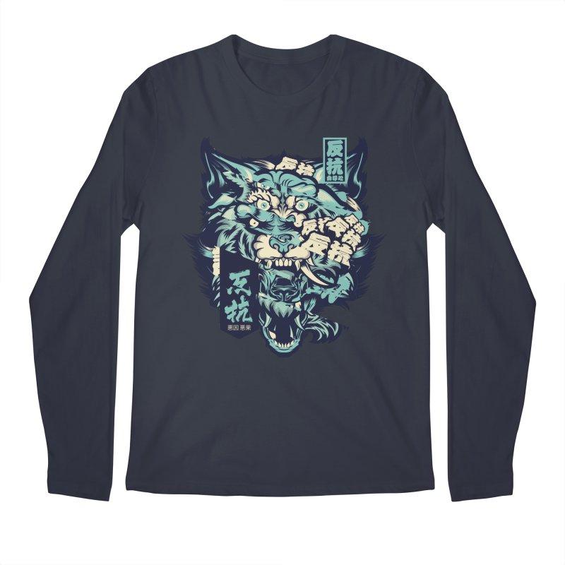 Defiance Anger Men's Regular Longsleeve T-Shirt by HYDRO74