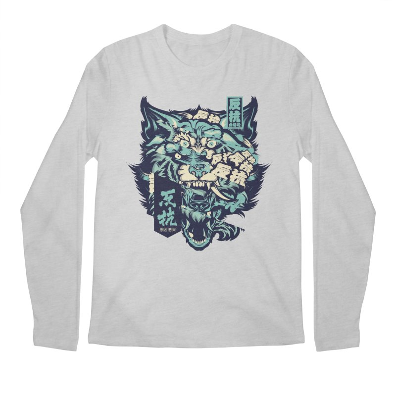 Defiance Anger Men's Regular Longsleeve T-Shirt by HYDRO74