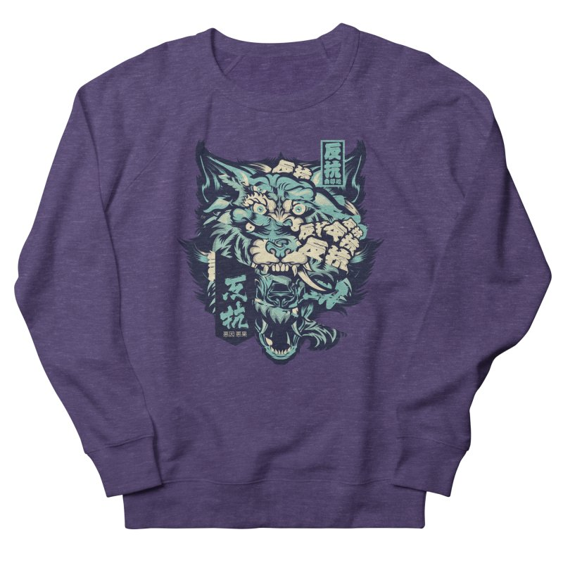 Defiance Anger Women's French Terry Sweatshirt by HYDRO74
