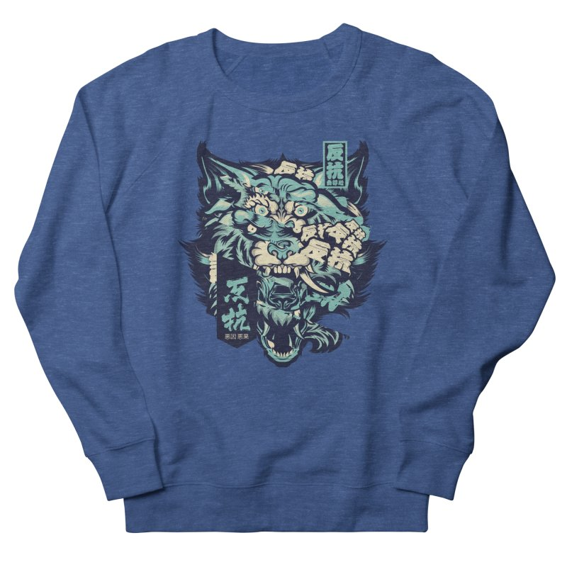 Defiance Anger Men's French Terry Sweatshirt by HYDRO74