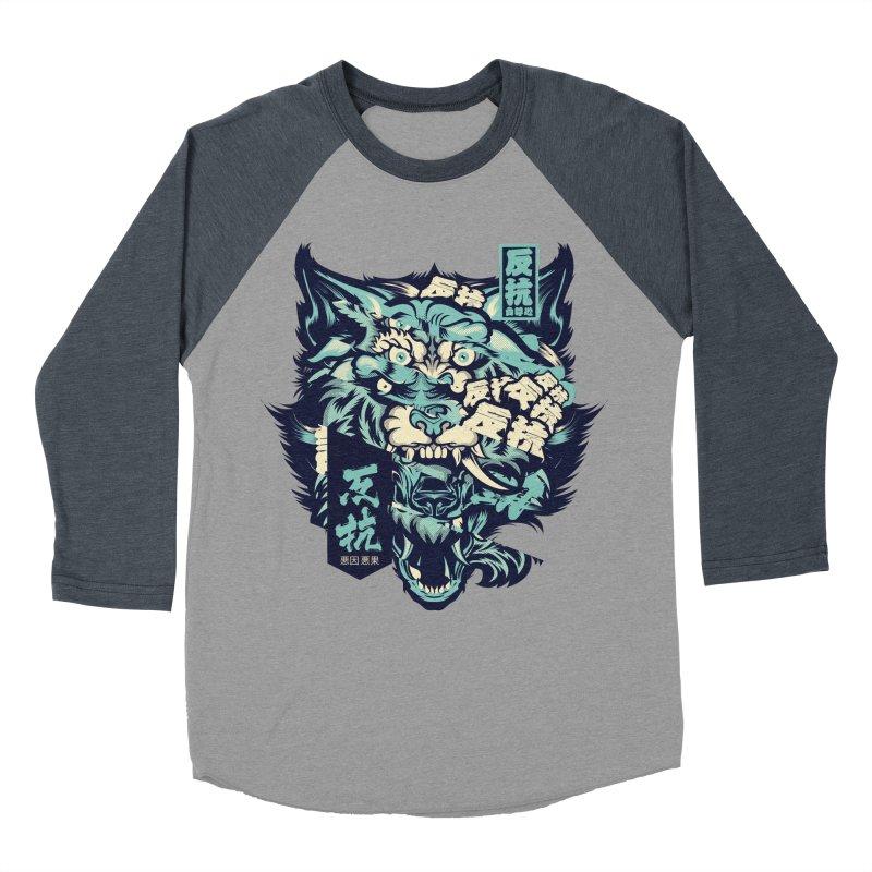 Defiance Anger Women's Baseball Triblend Longsleeve T-Shirt by HYDRO74