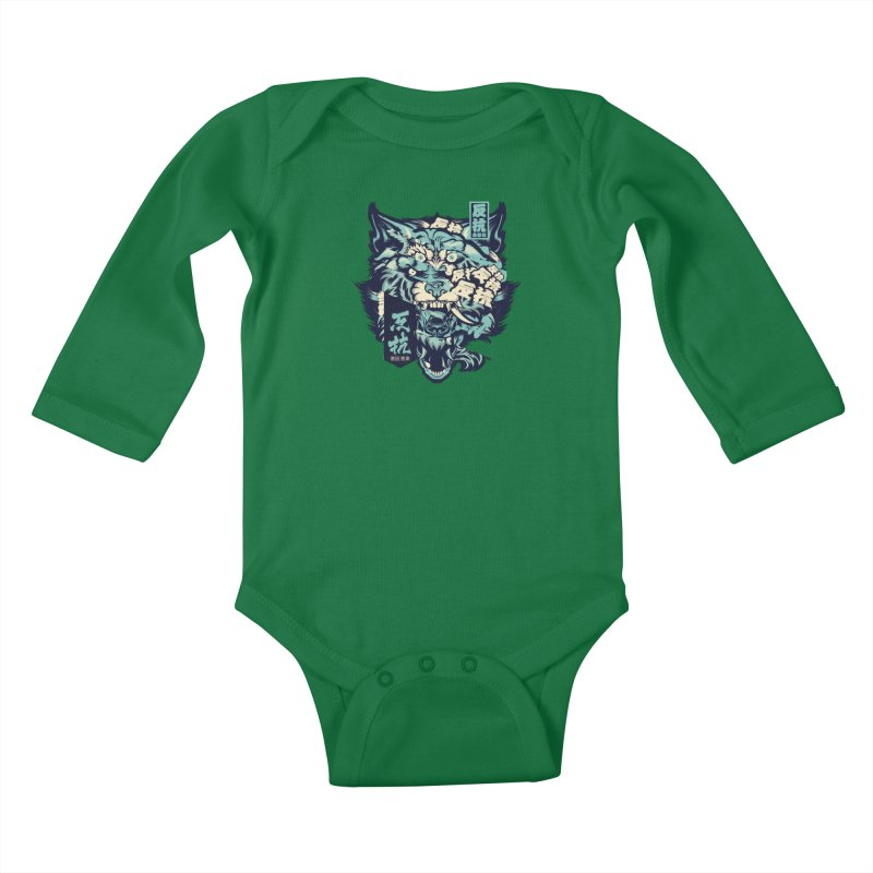 Defiance Anger Kids Baby Longsleeve Bodysuit by HYDRO74