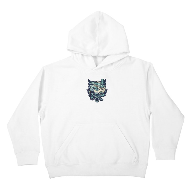 Defiance Anger Kids Pullover Hoody by HYDRO74