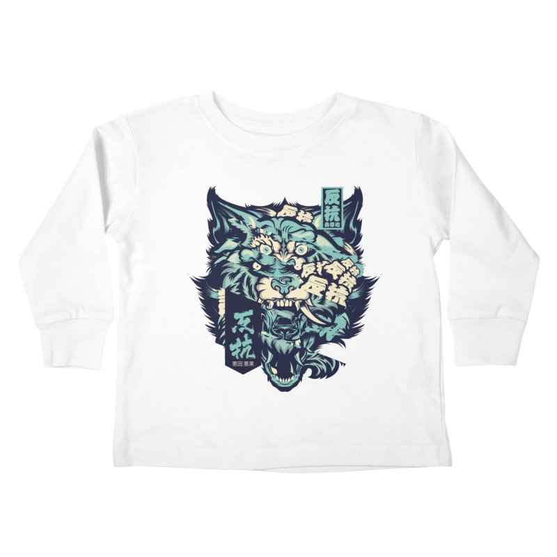 Defiance Anger Kids Toddler Longsleeve T-Shirt by HYDRO74