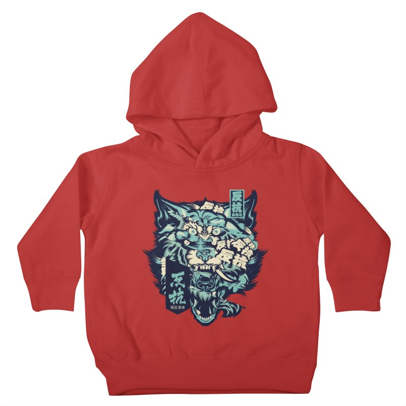 Defiance Anger Kids Toddler Pullover Hoody by HYDRO74