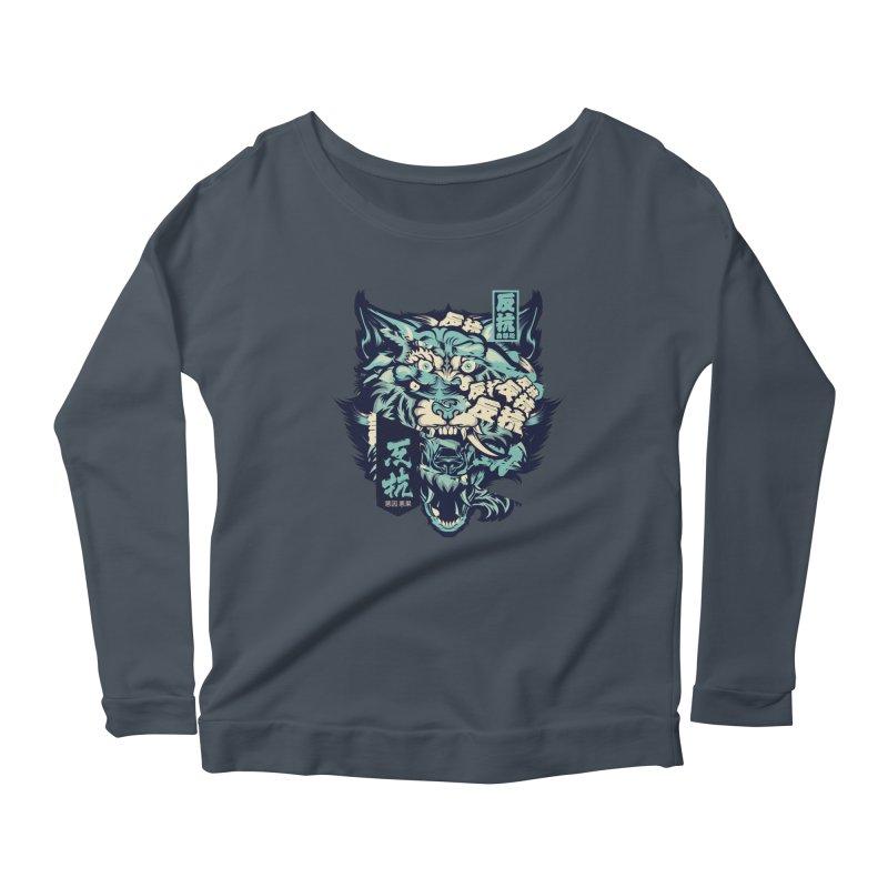 Defiance Anger Women's Longsleeve T-Shirt by HYDRO74