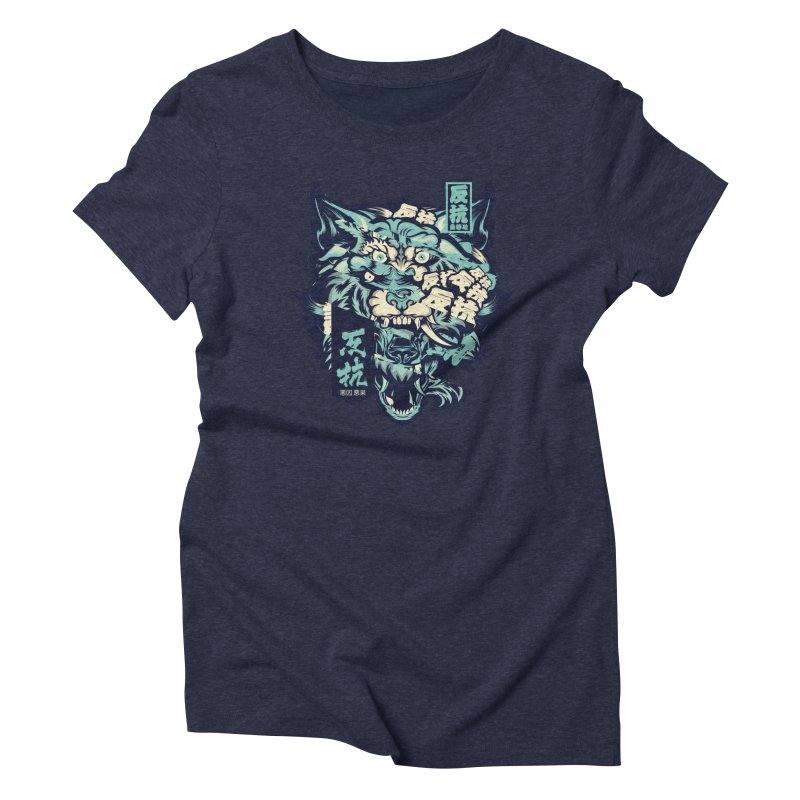 Defiance Anger Women's Triblend T-Shirt by HYDRO74