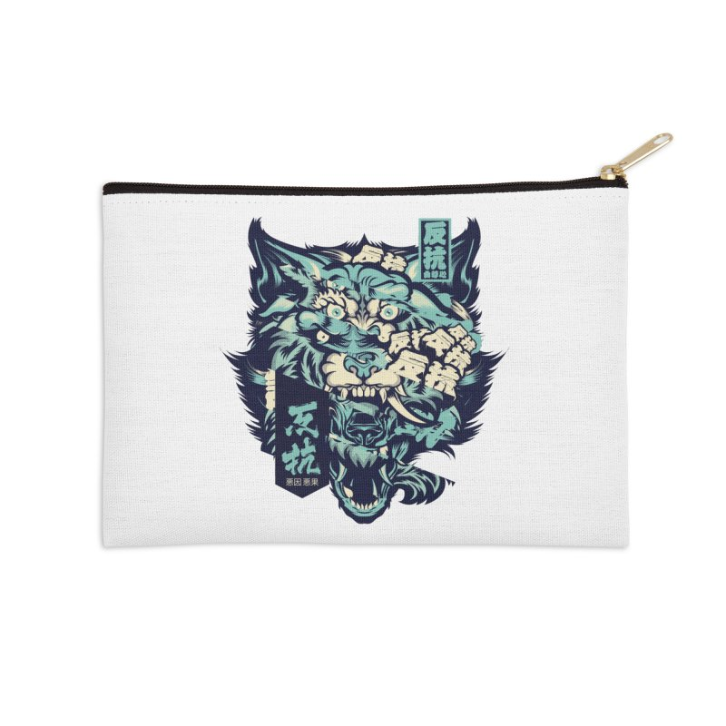 Defiance Anger Accessories Zip Pouch by HYDRO74