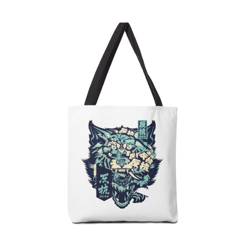 Defiance Anger Accessories Tote Bag Bag by HYDRO74