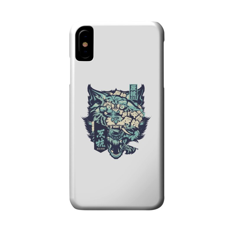 Defiance Anger Accessories Phone Case by HYDRO74